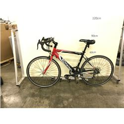 BLACK SCHWINN VOLARE 14 SPEED ROAD BIKE