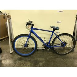 BLUE CCM VECTOR 24 SPEED MOUNTAIN BIKE