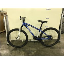 BLUE SPECIALIZED HARDROCK 21 SPEED FRONT SUSPENSION DISC BRAKES MOUNTAIN BIKE