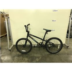 BLACK GT MACH ONE SINGLE SPEED KIDS BIKE
