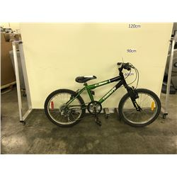 GREEN TRIUMPH CRAVE 6 SPEED KIDS BIKE