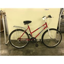 RED VENTURE ROAD RUNNER 12 SPEED HYBRID BIKE