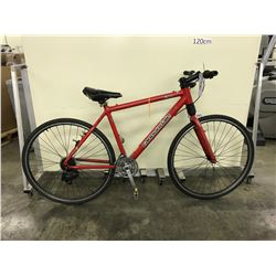RED CANNONDALE F300 21 SPEED ROAD BIKE