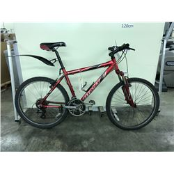 RED GIANT BOULDER SE 18 SPEED FRONT SUSPENSION MOUNTAIN BIKE