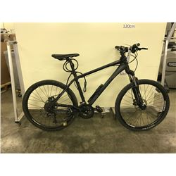 BLACK GIANT REVEL 24 SPEED FRONT SUSPENSION DISC BRAKES MOUNTAIN BIKE