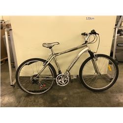 SILVER INFINITY PREMIER 21 SPEED FRONT SUSPENSION MOUNTAIN BIKE