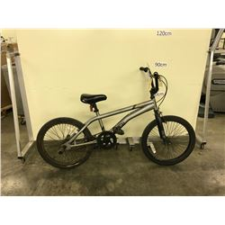 GREY SIMS SINGLE SPEED BMX BIKE