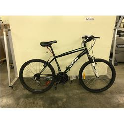 BLACK CCM NITRO XT 24 SPEED FRONT SUSPENSION MOUNTAIN BIKE