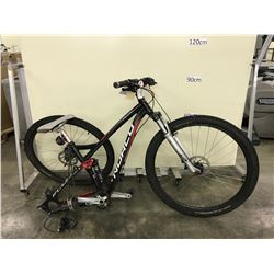 BLACK NORCO FLUID 9.2 8 SPEED FULL SUSPENSION DISC BRAKES MOUNTAIN BIKE