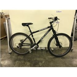 BLACK KONA CINDER CONE 14 SPEED FRONT SUSPENSION MOUNTAIN BIKE