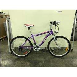 PURPLE GLOSS AVIGO 18 SPEED MOUNTAIN BIKE