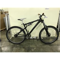BLACK NO NAME 21 SPEED FULL SUSPENSION MOUNTAIN BIKE