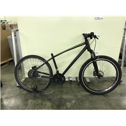 BLACK SPECIALIZED 21 SPEED FRONT SUSPENSION MOUNTAIN BIKE - NO SEAT