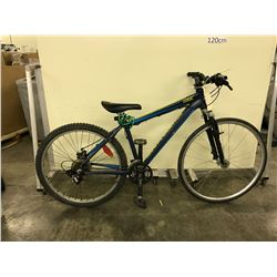 BLUE ROCKY MOUNTAIN EDGE 21 SPEED FRONT SUSPENSION BIKE
