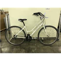 WHITE OPUS CERVIN 21 SPEED CRUISER BIKE