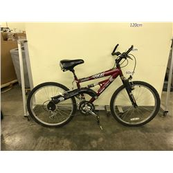 RED TECH TEAM RADAR 21 SPEED FULL SUSPENSION MOUNTAIN BIKE