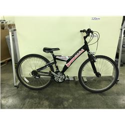 BLUE TREK MT220 18 SPEED FRONT SUSPENSION MOUNTAIN BIKE