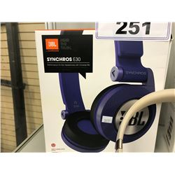 JBL SYNCHROS E30BT WIRELESS HEADPHONES