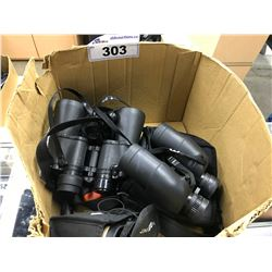 LOT OF MISC. BINOCULARS