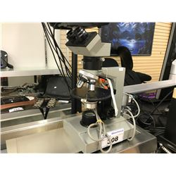 GREY MULTI LENS MICROSCOPE