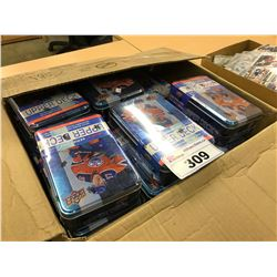 BOX OF UPPER DECK SERIES ONE HOCKEY CARDS