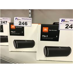 JBL FLIP 2 PORTABLE BOOTH TOOTH SPEAKERS