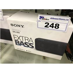 SONY SRS-XB3 EXTRA BASE PERSONAL BLUETOOTH SPEAKER