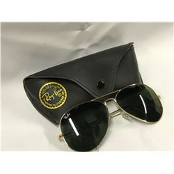 RAYBAN SUNGLASSES  (AUTHENTICITY NOT VERIFIED)