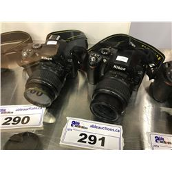 NIKON D40 DIGITAL CAMERA WITH LENS