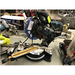 MASTERCRAFT HAWKEYE SLIDING COMPOUND MITRE SAW