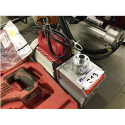 ROBINAIR 2 STAGE VACUUM PUMP, MODEL 15800