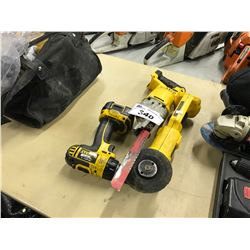LOT OF 3 DEWALT CORDLESS POWER TOOLS