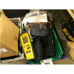 LOT OF TOOLS INC. SAW, DIGITAL INSULATION TESTER, HAMMER DRILL, LED LIGHT AND MORE