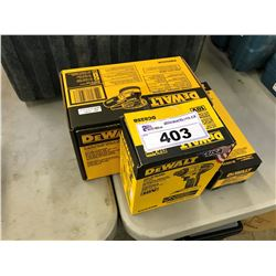 DEWALT DRYWALL CUT-OUT TOOL, SANDER, AND IMPACT DRIVER