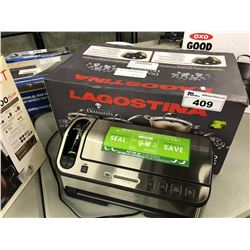 LAGOSTINA POT/PAN SET AND FOODSAVER VACUUM SEALER