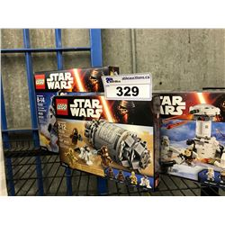 LOT OF ASSORTED STAR WARS LEGO