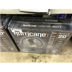 HURRICANE PRO 20'' SHOP FAN