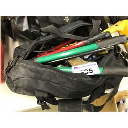 BAG OF ASSORTED TOOLS