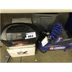 ELIMINATOR POWER PACK, CAMPBELL HAUSFELD COMPRESSOR AND ALUMINUM CYLINDER HEADS