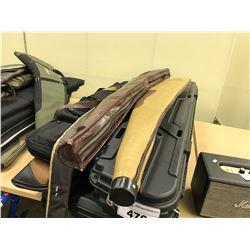 LOT OF GUN/FISHING ROD CASES