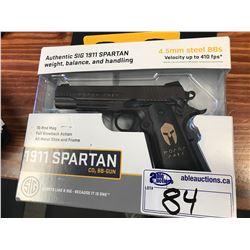 SIG 1911 SPARTAN 4.5MM STEEL BB GUN