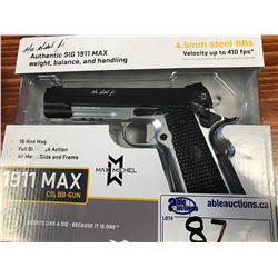 SIG 1911 MAX MICHEL 4.5MM STEEL BB GUN