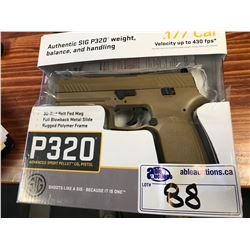 SIG P320 .177 CAL BB GUN