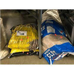 CABELAS BBQ WOOD PELLETS & WESTERN HICKORY LOGS