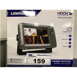 LOWRANCE HOOK 2 7X FISH FINDER/GPS PLOTTER