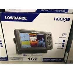 LOWRANCE HOOK 7 FISH FINDER/CHART PLOTTER