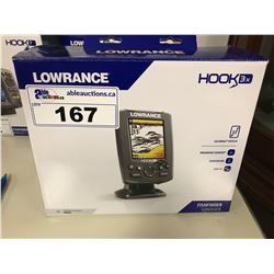 LOWRANCE HOOK 3X FISH FINDER