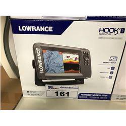 LOWRANCE HOOK 2 - 7 FISH FINDER/GPS PLOTTER