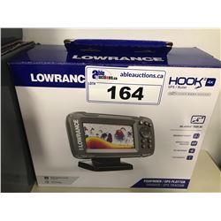 LOWRANCE HOOK 2 4X FISH FINDER/GPS PLOTTER