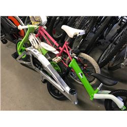 3 CHILDS BICYCLES & BIKE FRAME